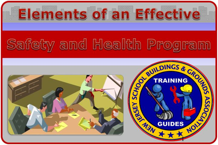 safety and health program n.