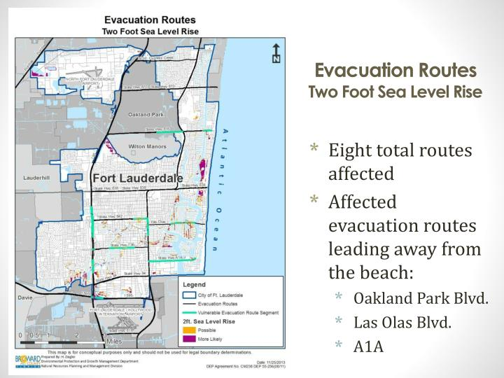 Evacuation Routes