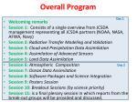 overall program