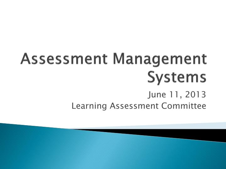 assessment management systems n.