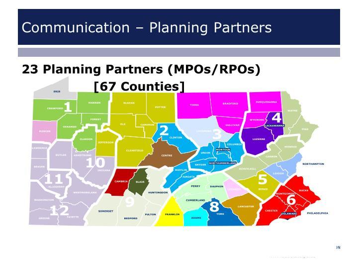 Communication – Planning Partners