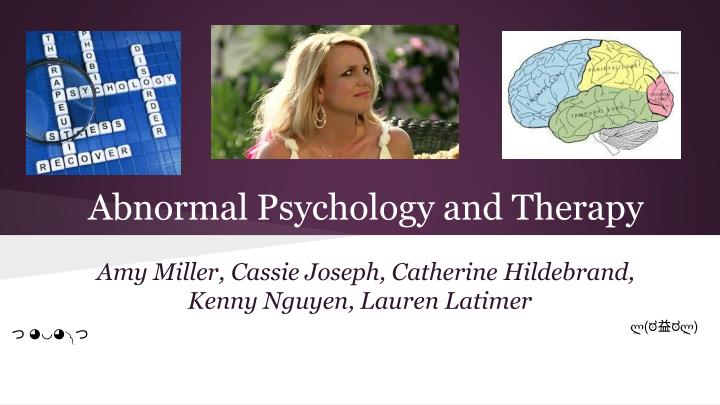 psychology and amy