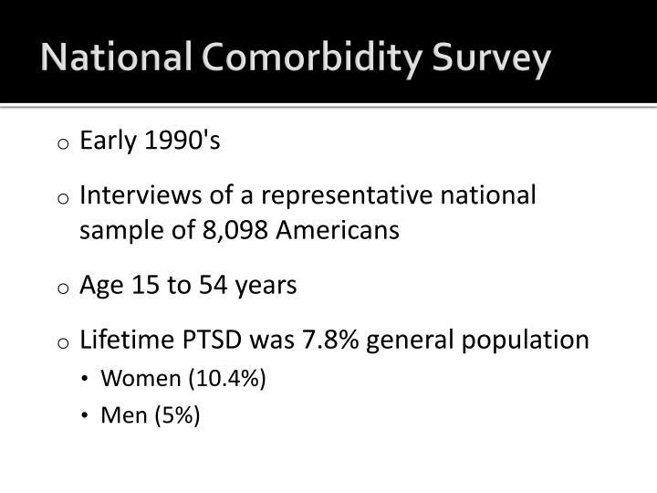 National Comorbidity Survey