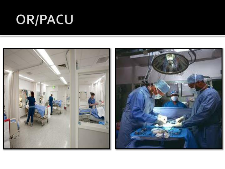 OR/PACU