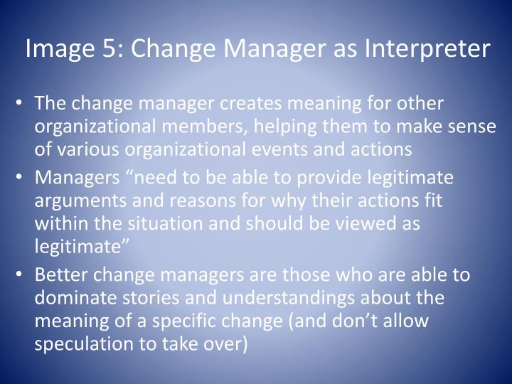 director navigator caretaker coach interpreter or nurturer Examination of the two types of change agents director, navigator, caretaker, coach, interpreter, and nurturer the director image is based on an image of.