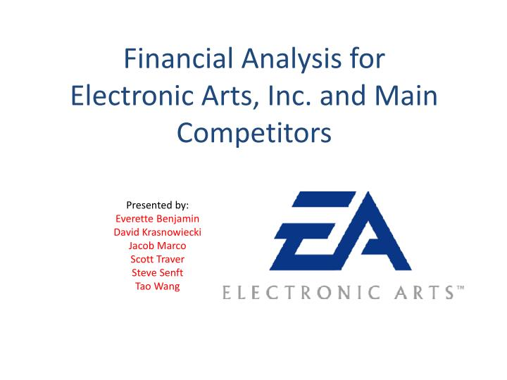 financial analysis for electronic arts inc and main competitors n.