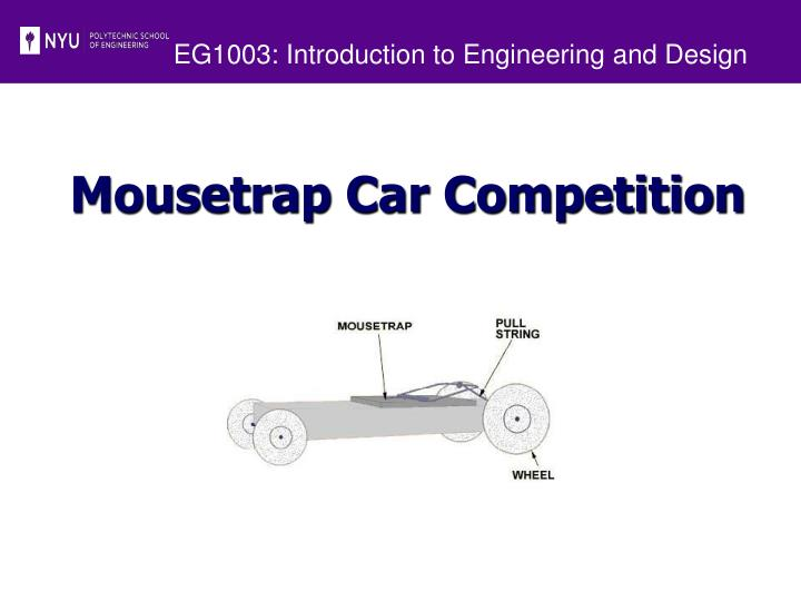 Eg1003 introduction to engineering and design