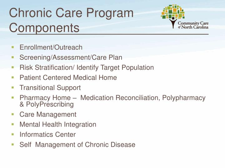 Chronic Care Program