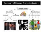 summary of risk and protective factors