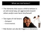 what are risk factors
