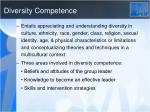 diversity competence