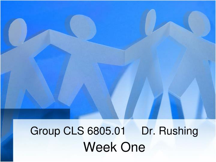 group cls 6805 01 dr rushing