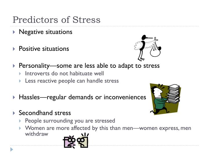 Predictors of Stress