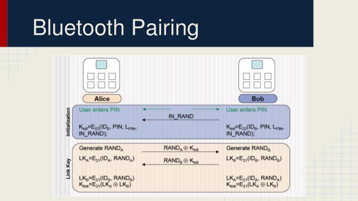 Bluetooth Pairing