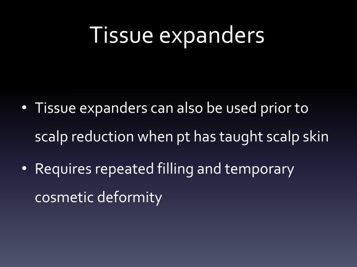 Tissue expanders