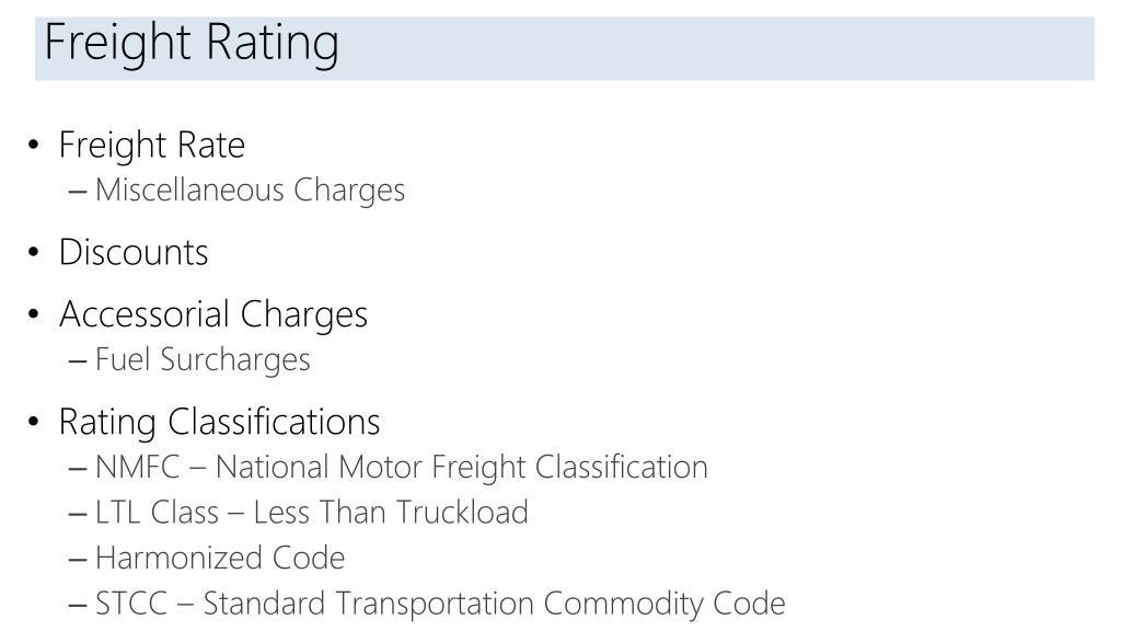 PPT - Transportation Management in Microsoft Dynamics AX 2012 R3