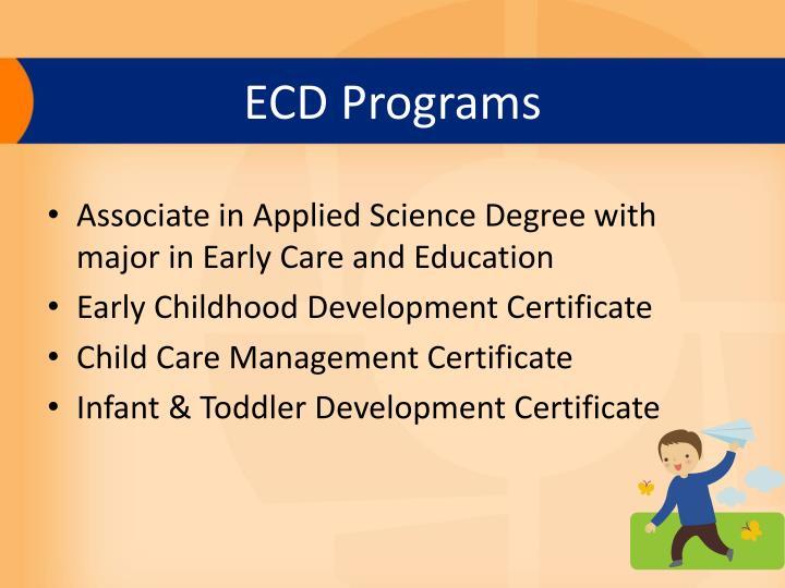 Ecd programs