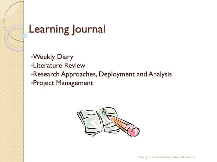 learning journal n.