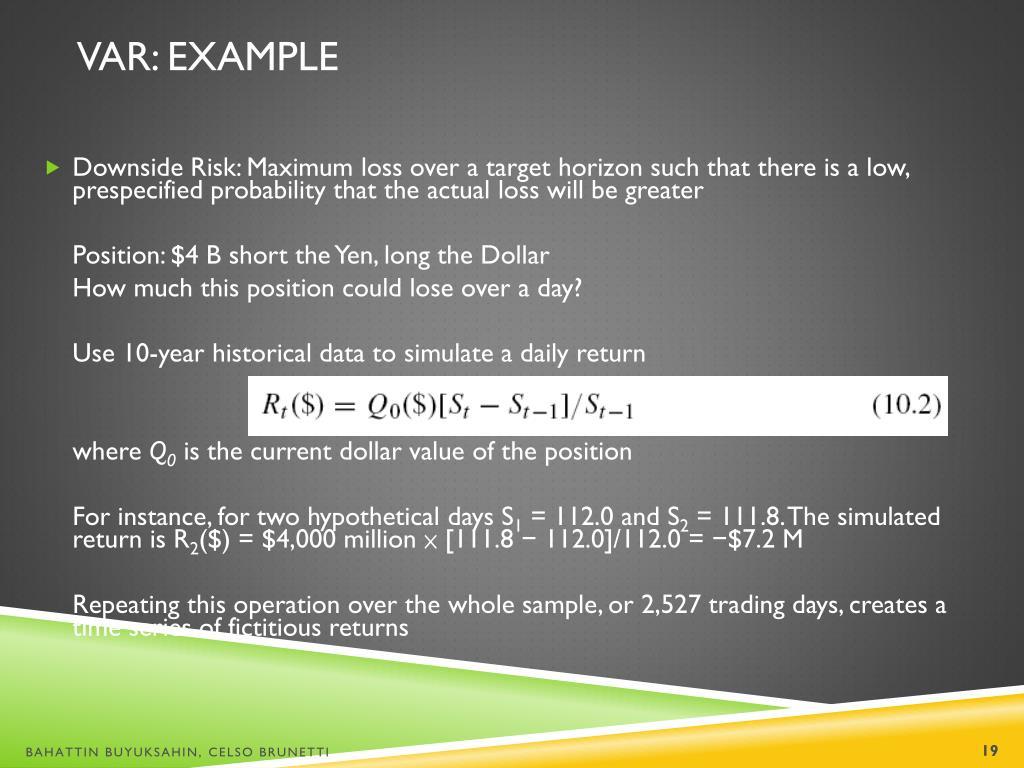 PPT - Market Risk Management: PowerPoint Presentation - ID
