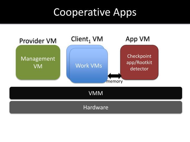 Cooperative Apps