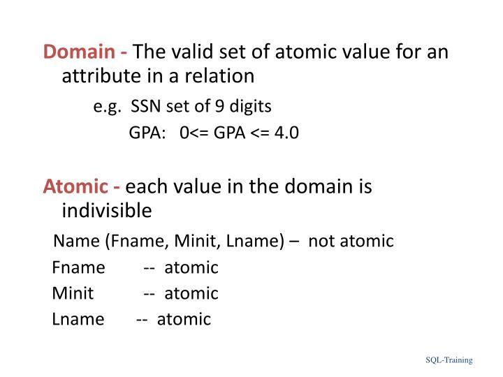 Domain -