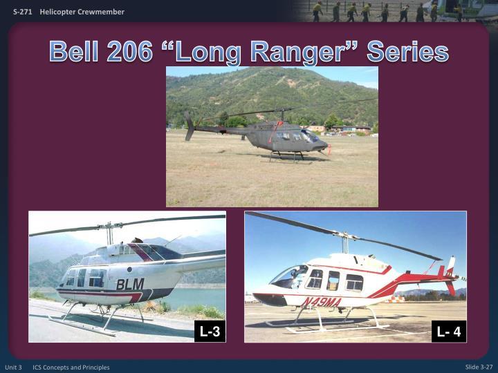 """Bell 206 """"Long Ranger"""" Series"""
