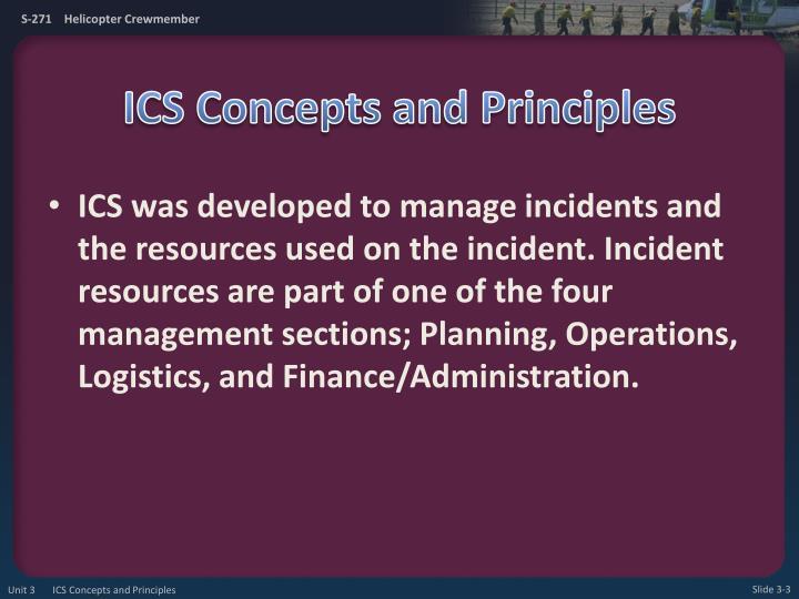 Ics concepts and principles1