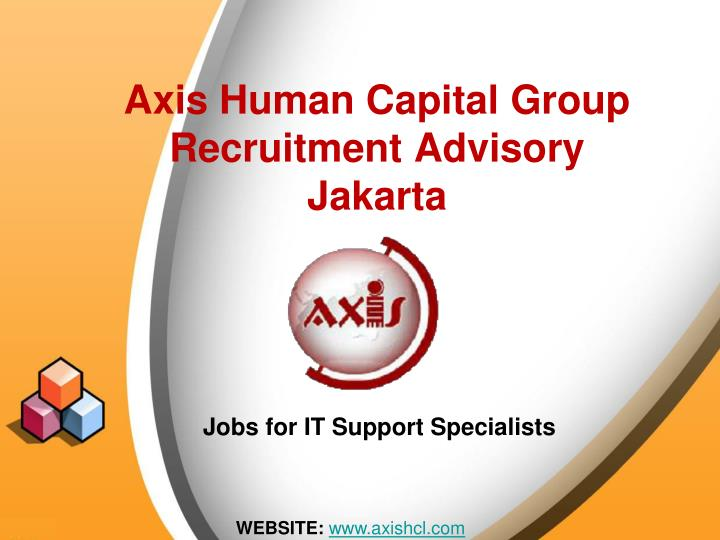 axis human capital group recruitment advisory jakarta n.