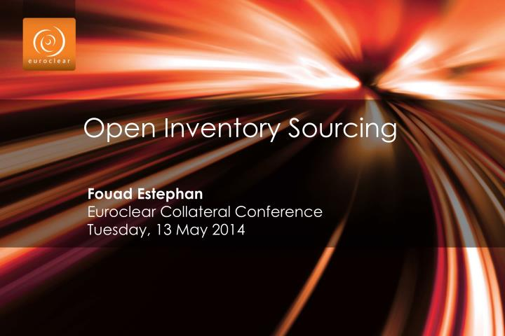 open inventory sourcing n.