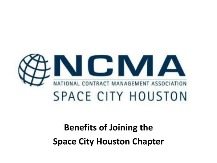 benefits of joining the space city houston chapter n.