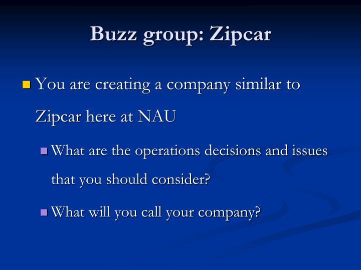 Buzz group:
