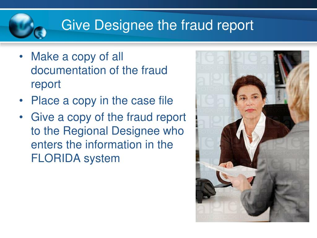 Ppt Reporting Fraud Case Managers Powerpoint Presentation Free Download Id 1568566