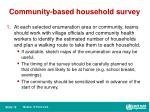 community based household survey1