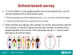 school based survey1