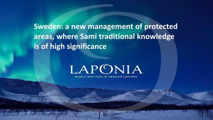 Sweden: a new management