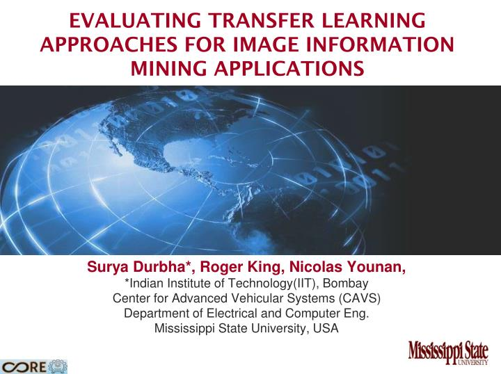 evaluating transfer learning approaches for image information mining applications n.