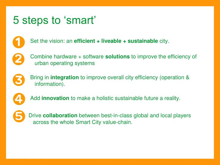 5 steps to 'smart'