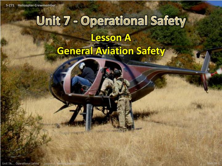 lesson a general aviation safety n.