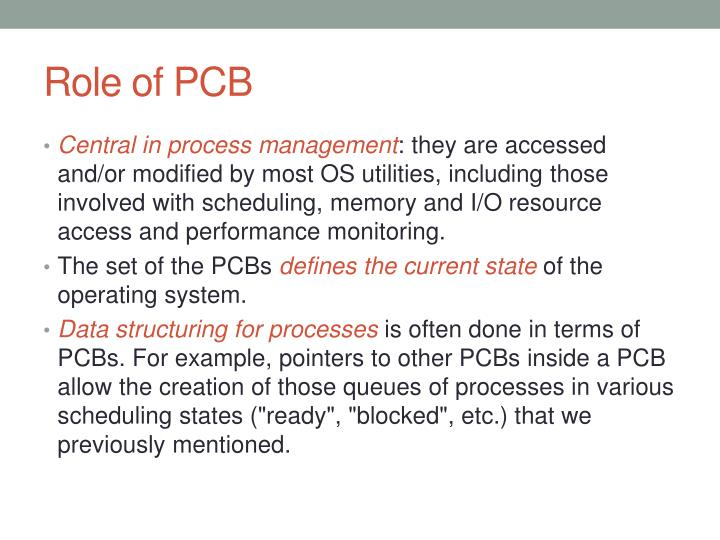 PPT - PROCESS Control BLOCK & PROCESS SCHEDULING PowerPoint ...