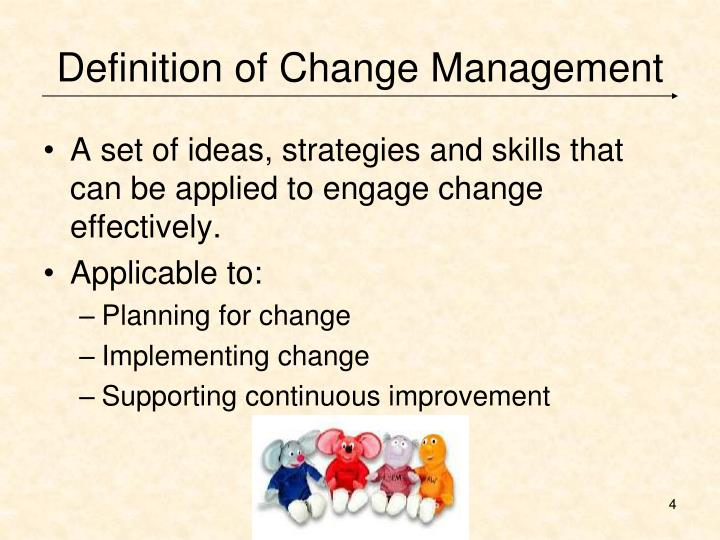 the different tactics for implementing change effectively In changing minds, gardner introduces seven levers for breaking through resistance to new ideas (see sidebar) some of these levers—such as providing convincing data and earning listeners' trust—are familiar to most persuaders but several seem far less intuitive, even to seasoned communicators.