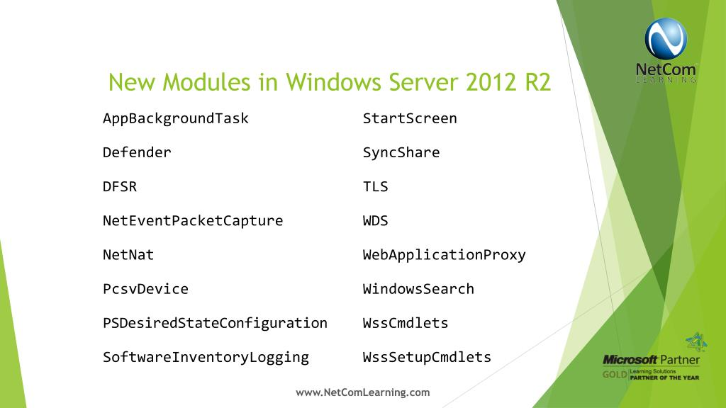 PPT - What's New: Windows Server 2012 R2 PowerPoint