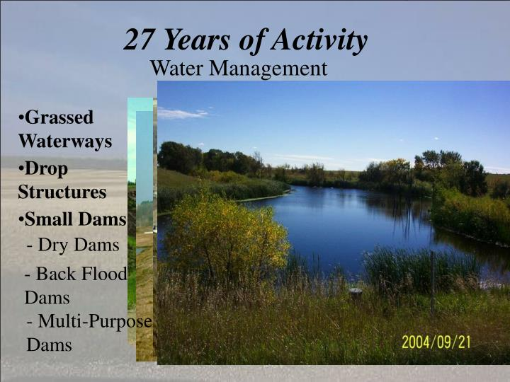 27 Years of Activity