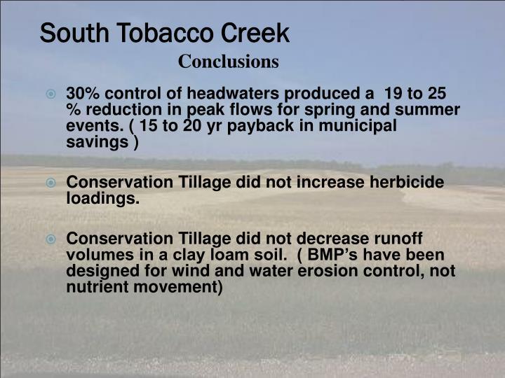 South Tobacco Creek