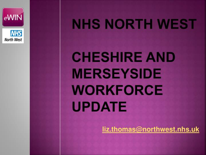NHS North west
