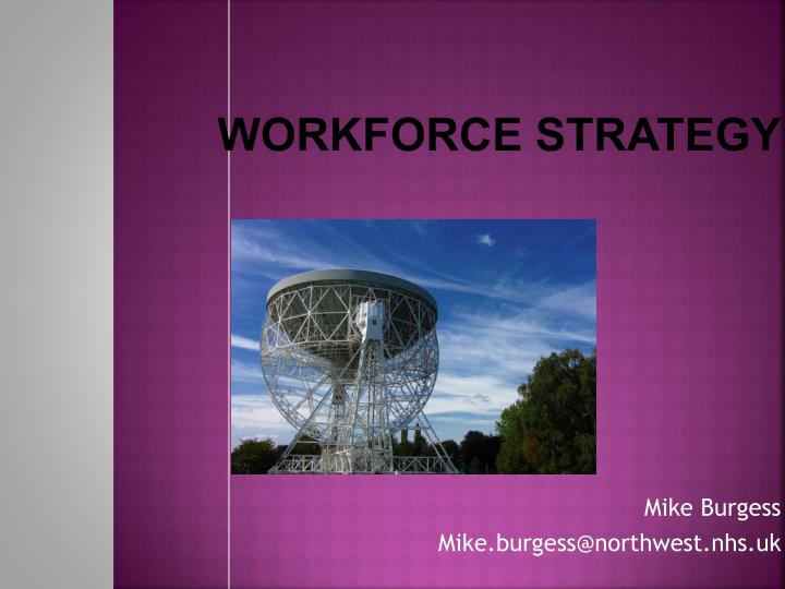 WORKFORCE STRATEGY