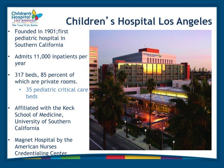 children's hospital of los angeles - 720×540