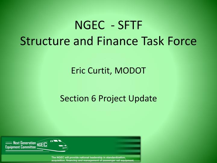 ngec sftf structure and finance task force n.