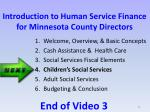 introduction to human service finance for minnesota county directors3