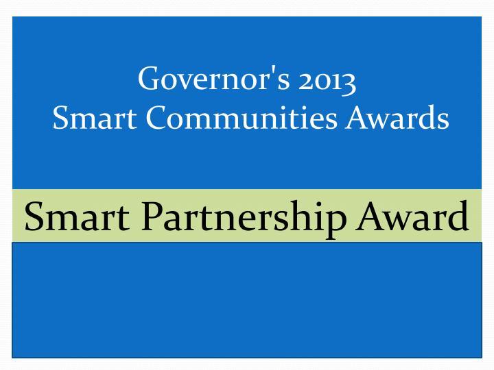 Smart Partnership Award