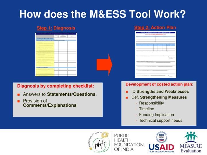 How does the M&ESS Tool Work?